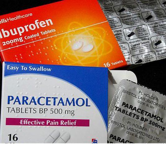 تاثیر مصرف مسکن های استامینوفن (پاراستامول ) و ایبوپروفن بعد از آرتروپلاستی | اطلاعات پزشکی طب لاین