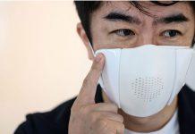ماسک پیشرفته برای پیشگیری از ابتلا به کرونا ویروس | ماسک تصفیه هوا | ماسک مترجم و ماسک مانیتور تیم اطلاعات پزشکی طب لاین