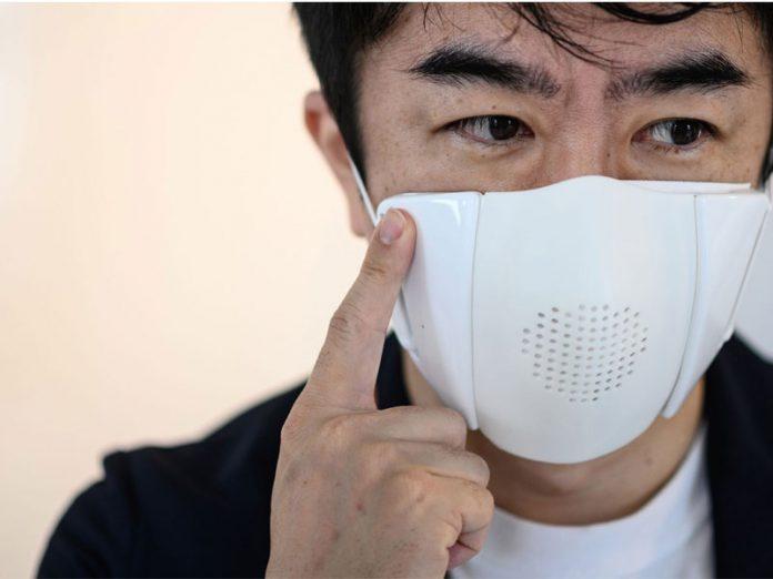 ماسک پیشرفته برای پیشگیری از ابتلا به کرونا ویروس   ماسک تصفیه هوا   ماسک مترجم و ماسک مانیتور تیم اطلاعات پزشکی طب لاین